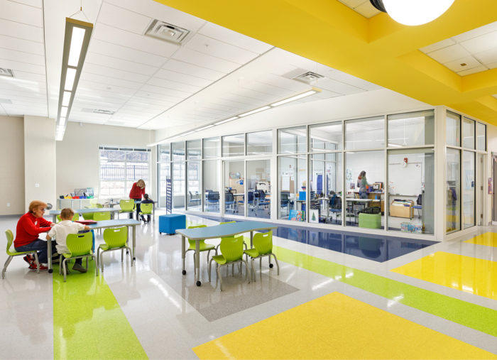 Patrick Henry PreK-8 School and Rec Center Earn LEED Silver