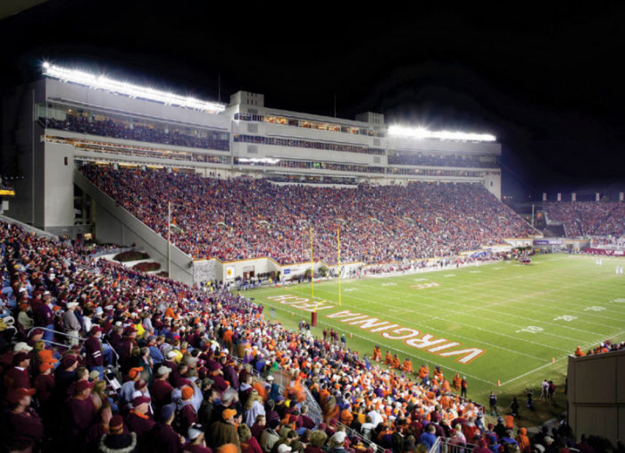 Lane Stadium<br>Virginia Tech
