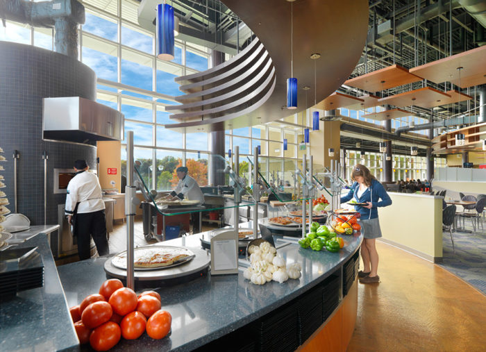 East Campus Dining Hall<br>James Madison University