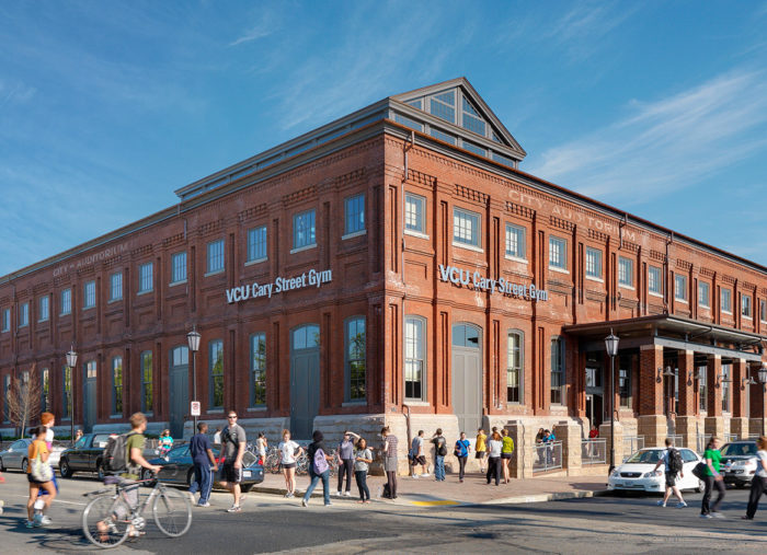 Cary Street Recreation Center<br>Virginia Commonwealth University