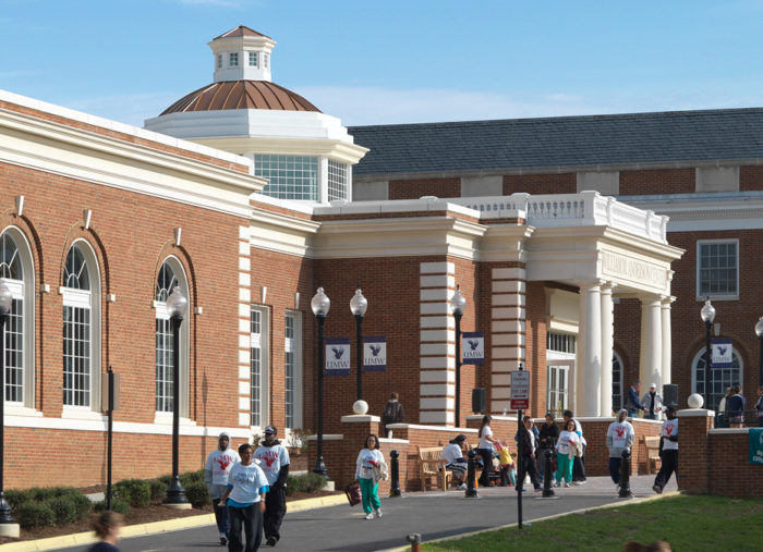 William Anderson Convocation Center<br>University of Mary Washington