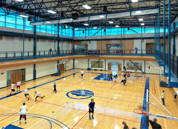 Student Recreation Center<br>Blue Ridge Community College<br>