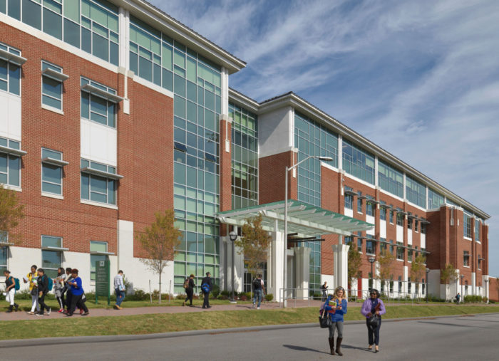 Nursing and General Education Building<br>Norfolk State University