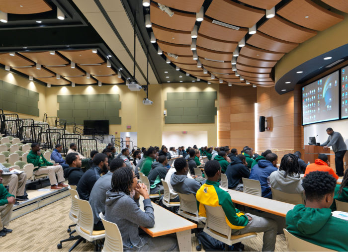 Nursing and General Education Building<br>Norfolk State University<br>