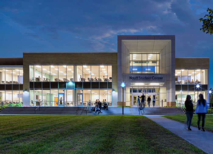 Houff Student Center<br>Blue Ridge Community College