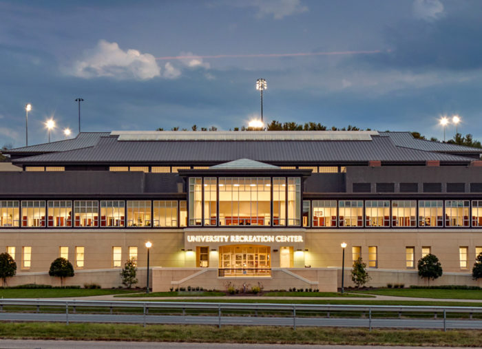 University Recreation Center<br>James Madison University