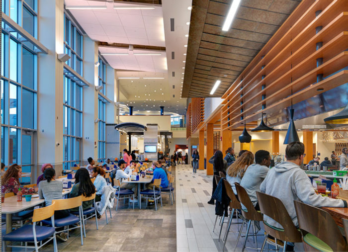 Broderick Dining Commons<br>Old Dominion University<br>