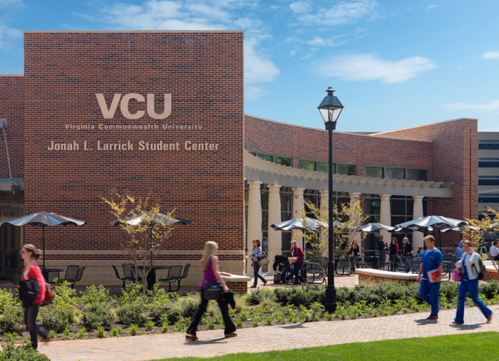 Jonah Larrick Student Center<br>Virginia Commonwealth University