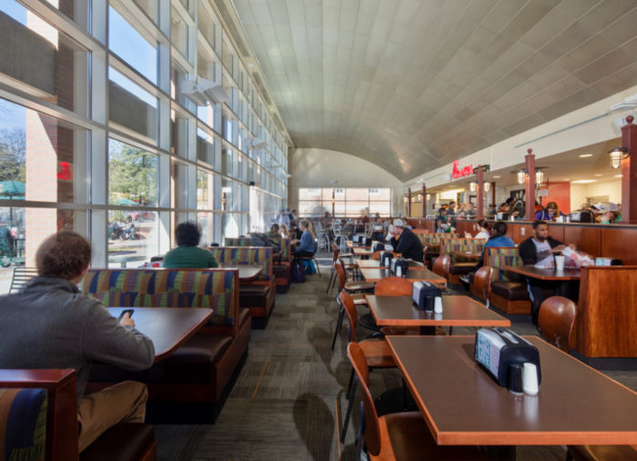Fernow Street Café Renovation<br>Clemson University