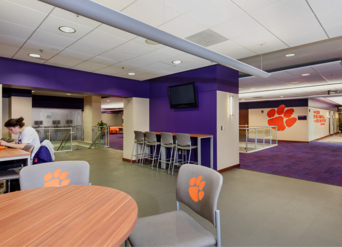 Nieri Family Student-Athlete Enrichment Center<br>Clemson University<br>