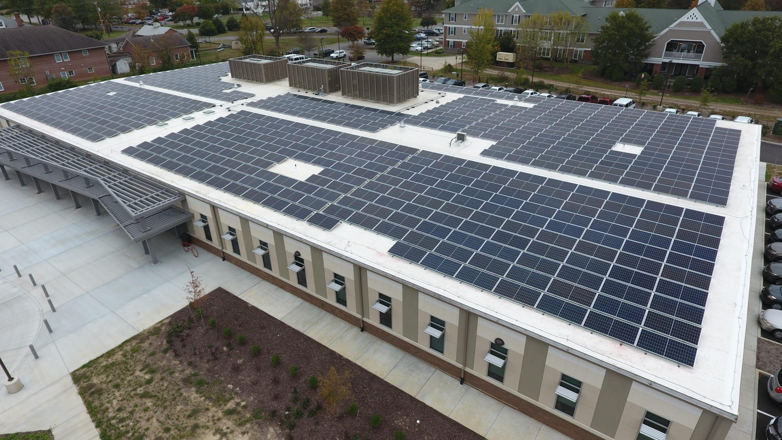 Henrico MHDS East Center Solar Panels 1