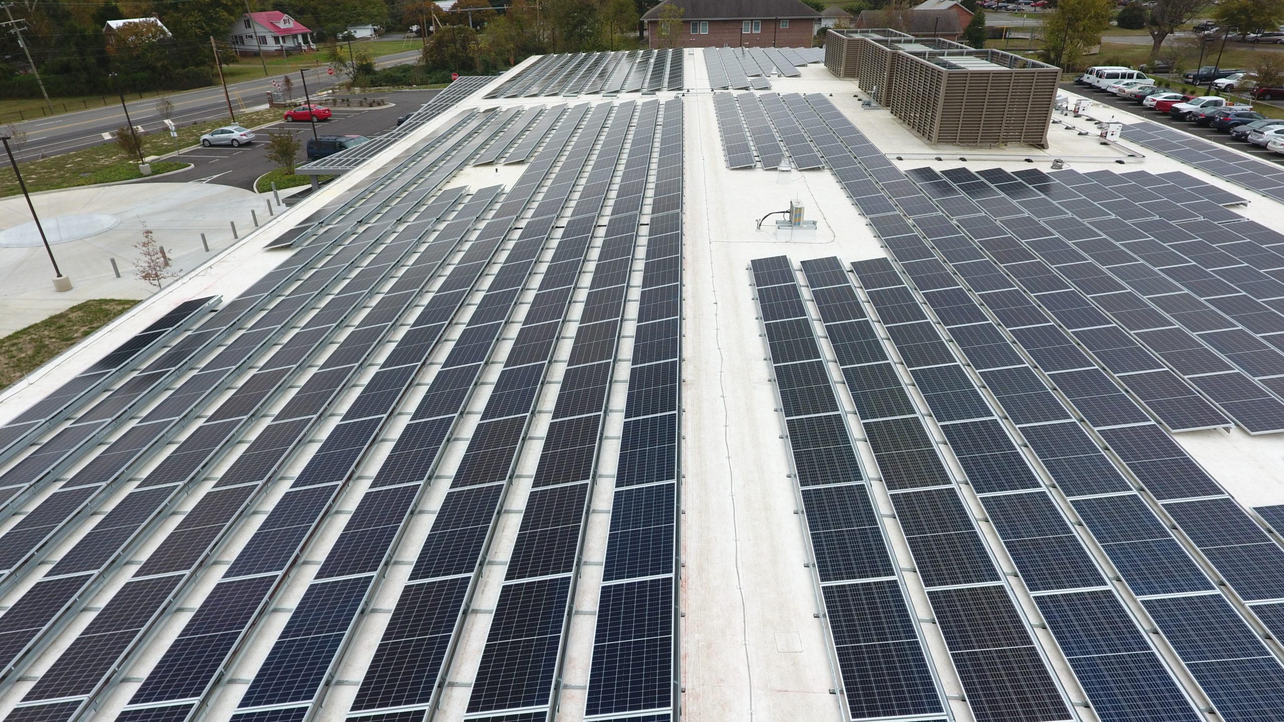 Henrico MHDS East Center Solar Panels 2