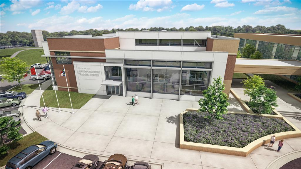Raleigh Law Enforcement Training Center Rendering
