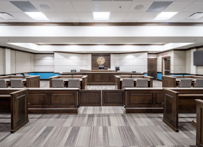 New Hanover County Division of Juvenile Justice Court Facility