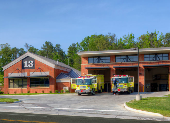 Moseley Architects Wins Fire Chief 2013 Station Design Award